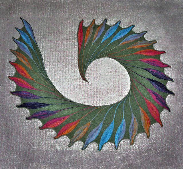 Dreambird KAL pattern by Nadita Swings | Chal, Alas y Capilla