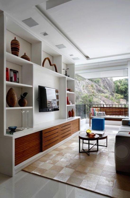 Tv Showcase Design Ideas For Living Room Decor 15524: 23 Best Modern TV Units Design For Living Rooms