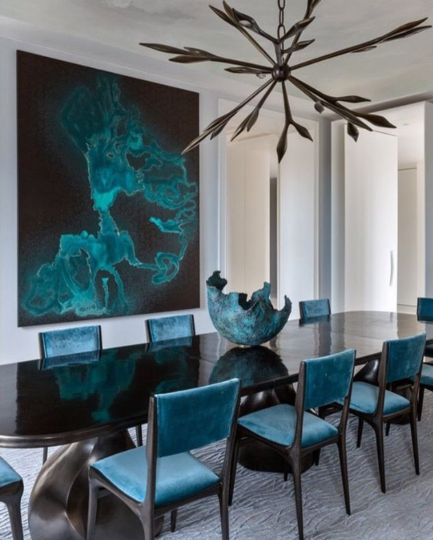 Peacock Dining Room Ideas Part - 40: To Help You Make A Perfect Choice, Modern Dining Tables Selected 10  Gorgeous Black Dining Tables For Your Modern Dining Room.