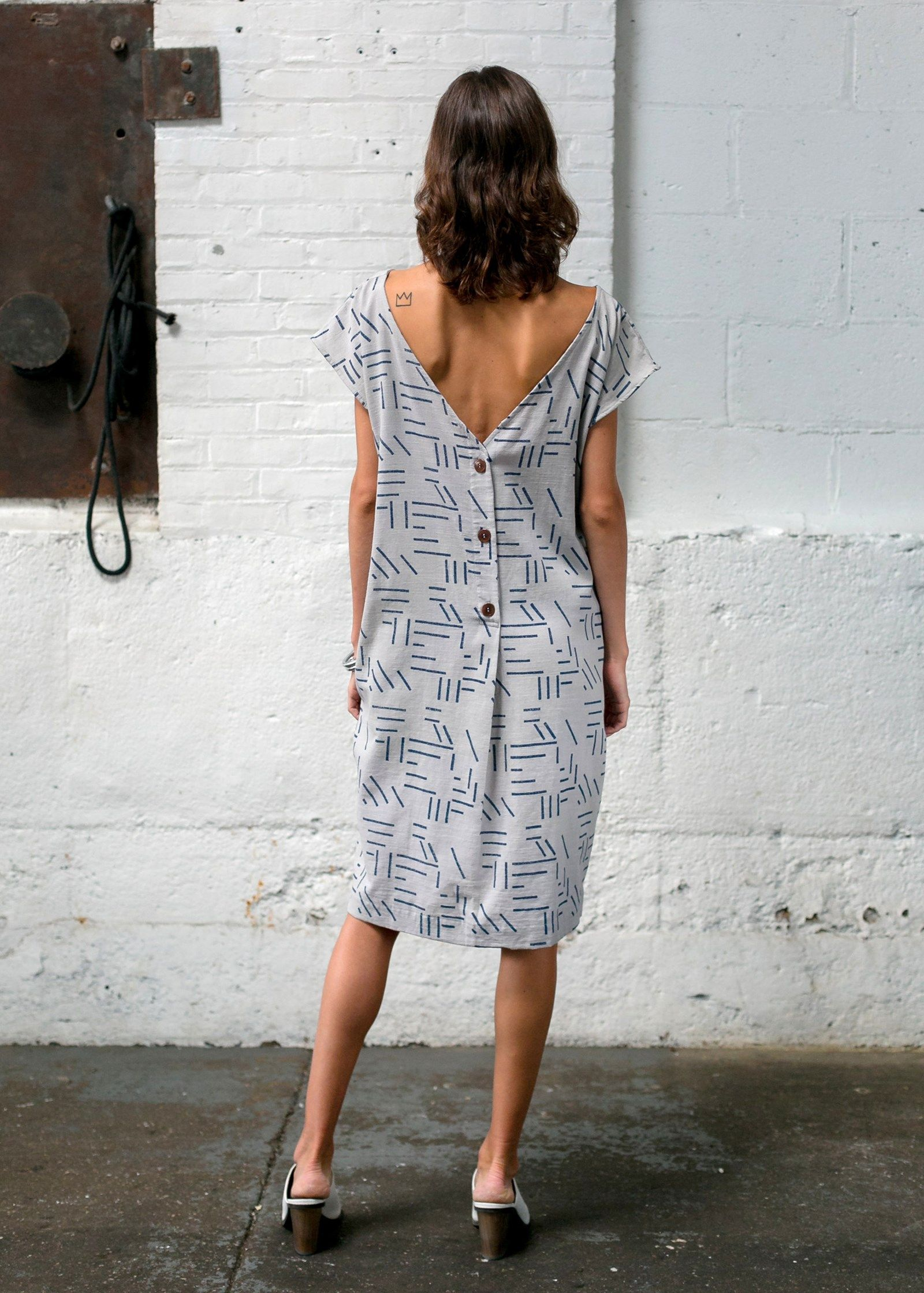 Caroline dress by seek collective gatherusee lookbook