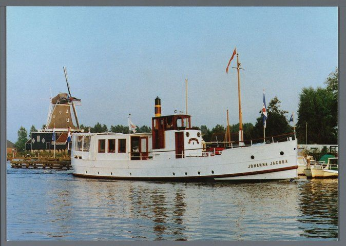 Beurt- en passagierschip Johanna Jacoba.