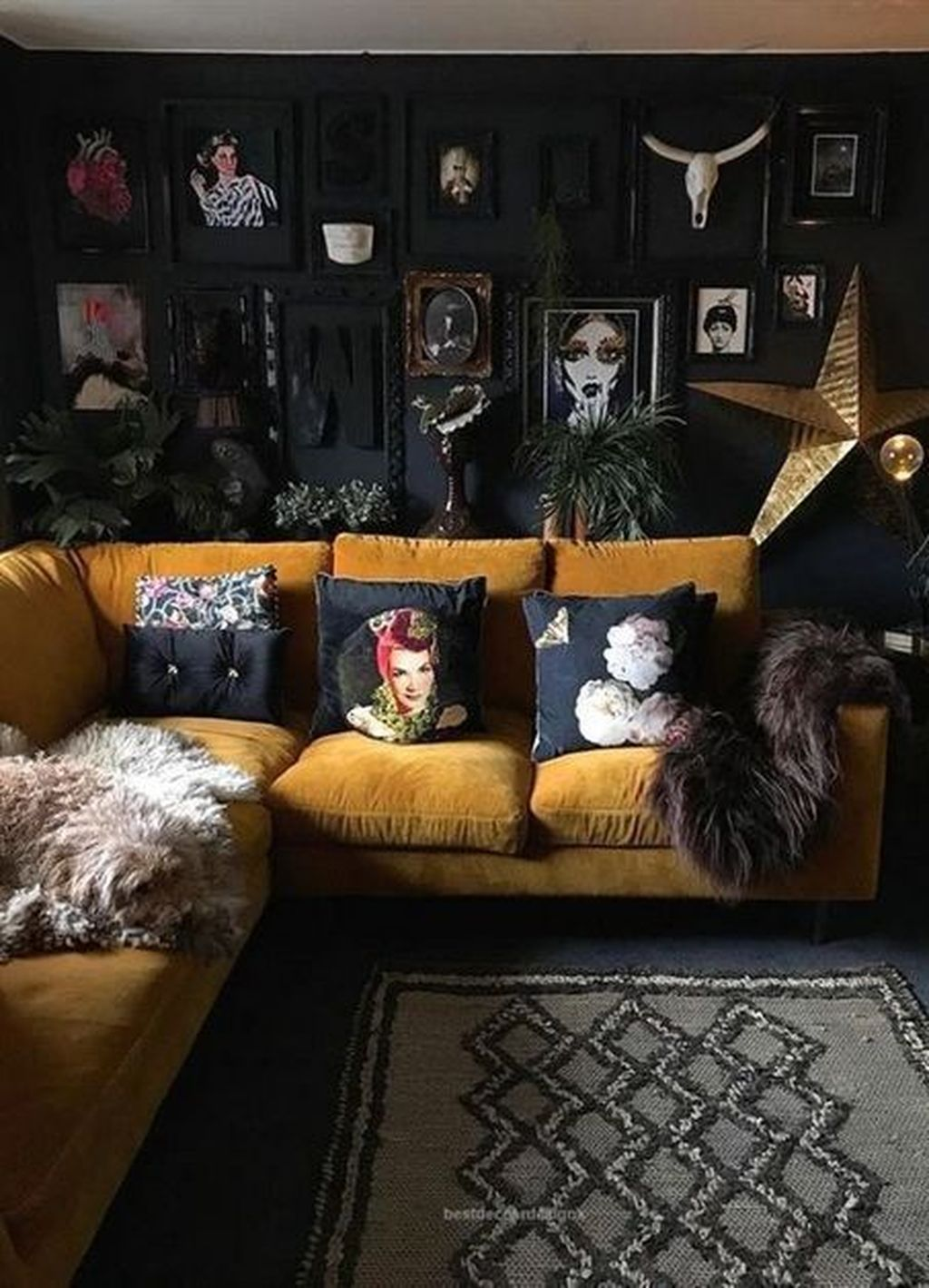 49 Adorable Black Living Room Ideas That Looks Cool Cluedecor Victorian Living Room Dark Blue Living Room Living Room Design Dark