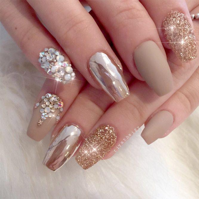 24 Chrome Nails Design The Newest Manicure Trend Pinterest