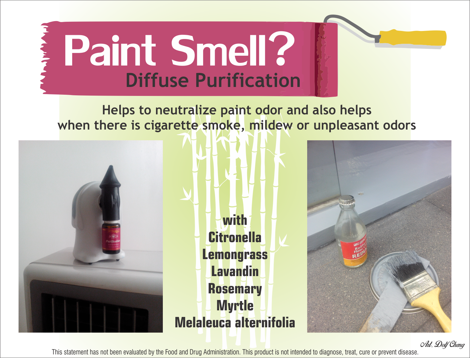 Paint Smell In Your Room And Purification Essential Oil For More