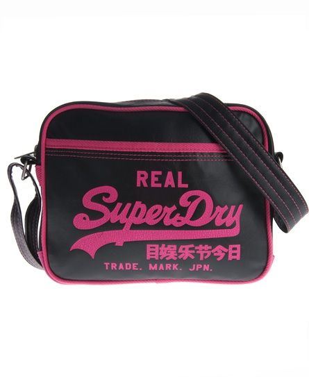 Black · Superdry Alumni Mini Bag