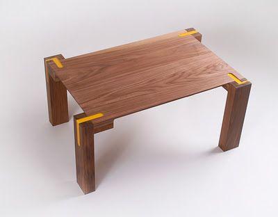 El Buen Diseño: Liquid Joint, el mueble con ensambles de resina de poliuretano