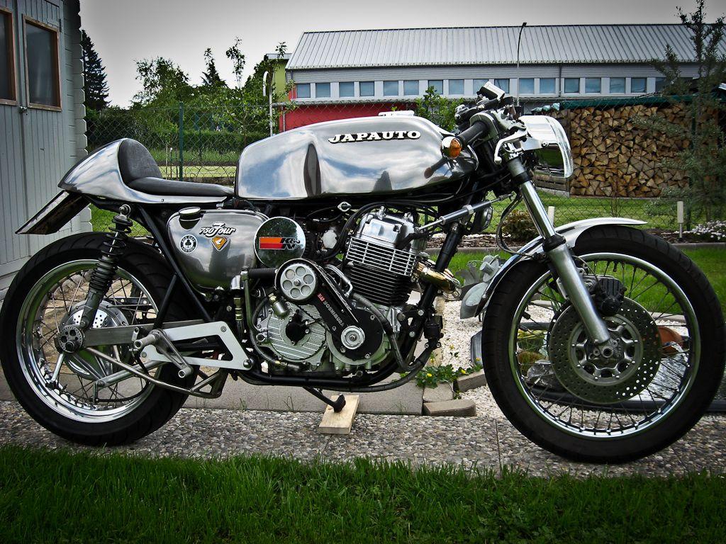 Honda: Fashionable DOHC CB750 Motorcycle Custom, Extrime