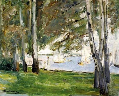 Birken am Wannsee (Birch Trees on the Banks of Wannsee), Max ...