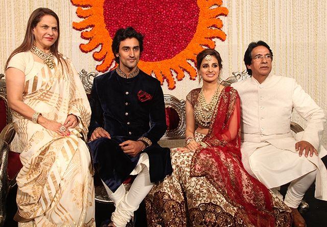 Bollywood Bride Naina Bachchan And Kunal Kapoor S Mumbai Wedding Reception Shaadi Belles Indian W Mumbai Wedding Indian Wedding Inspiration Indian Wedding