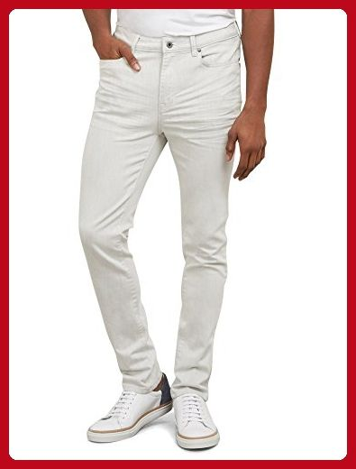 f4d200d380874 Kenneth Cole New York Men's Off Skinny Denim, White, 36W x 30L ...