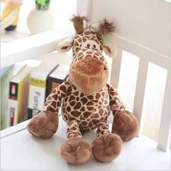 Friendly Plush Giraffe Deer Doll Christmas Gifts For Kids Newborn Photography Props Crochet