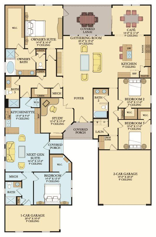 GENESIS New Home Plan in Palencia North 70s by Lennar I like