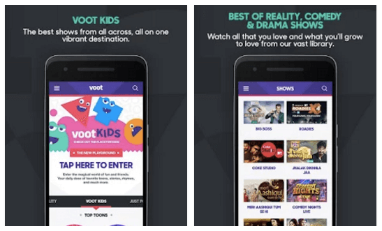 Download VOOT App APK for Android Smartphone/Tablet | Free
