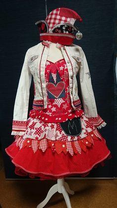 Individuelle Kostüme für Karneval