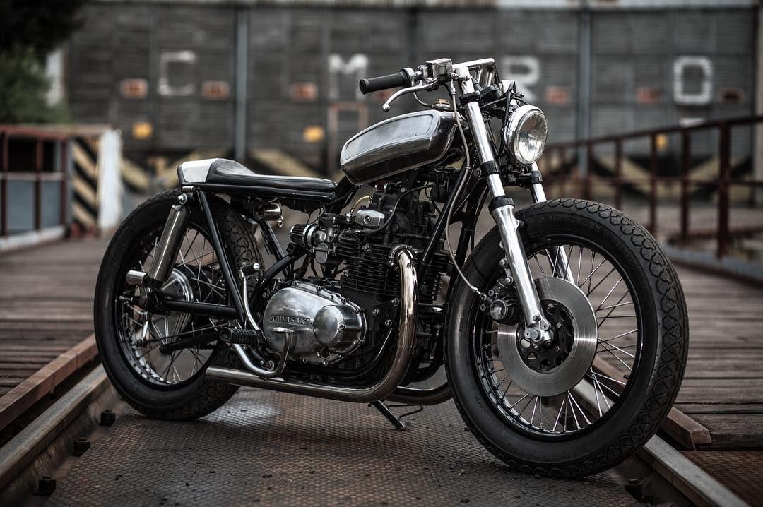 Kawasaki KZ400 By Pilgrim Motorcycles Of Poland