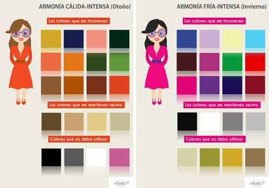 Fichas colores que me favorecen ejemplo modatips pinterest tes - Colores que favorecen ...