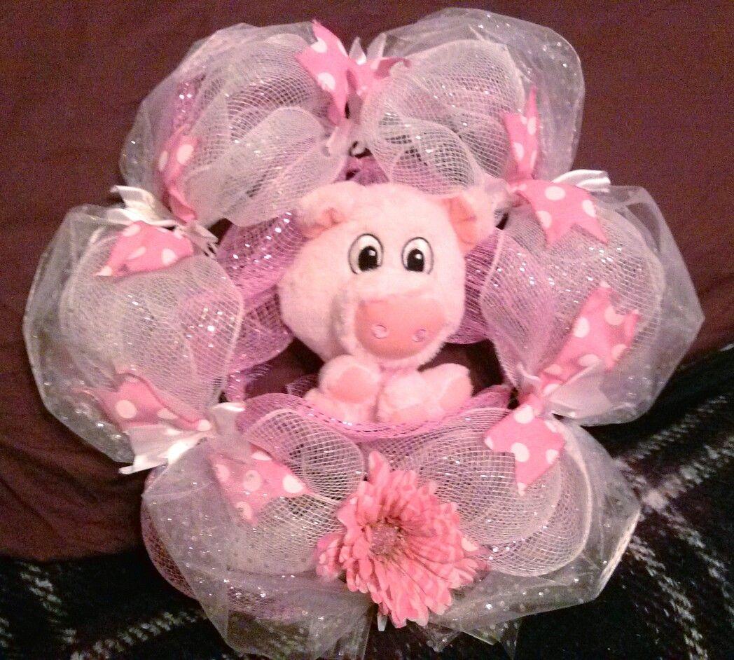 Pretty in pink piggy!