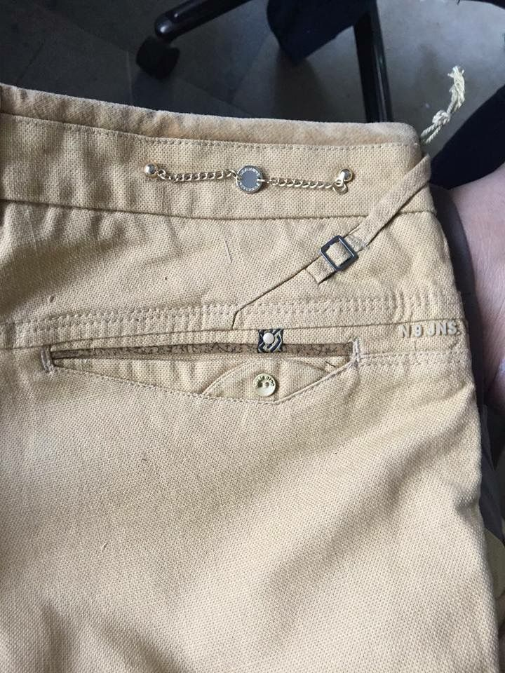 Bolsillos Pantalon Gabardina Hombre Pantalones De Mezclilla Gabardina Para Hombre