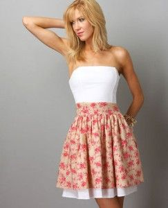 Sensibility Strapless Dress