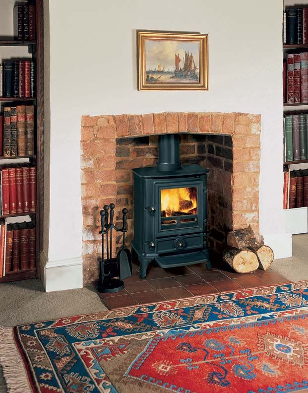 Everything you need to know about adding a fireplace insert | Old House  Journal Heating Month - 5 Ways To Transform An Old Fireplace Franklin Stove, Fireplace
