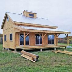 vermont cabin tiny homes pinterest kleines h uschen und h uschen. Black Bedroom Furniture Sets. Home Design Ideas