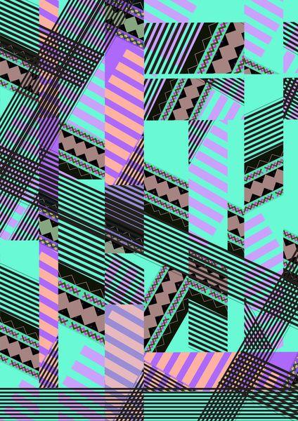 ELECTRIC TUNELS /// Art Print