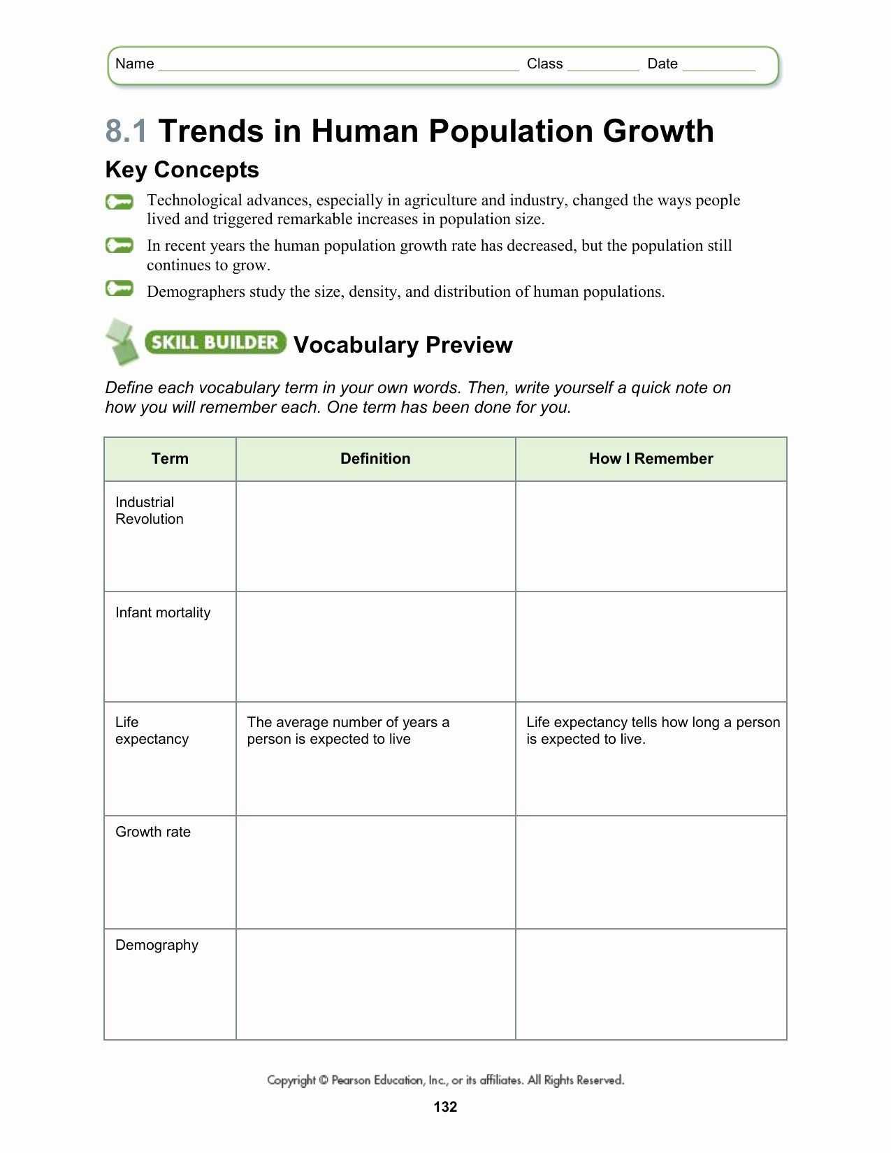 Population Ecology Graph Worksheet Unique Worksheets Human