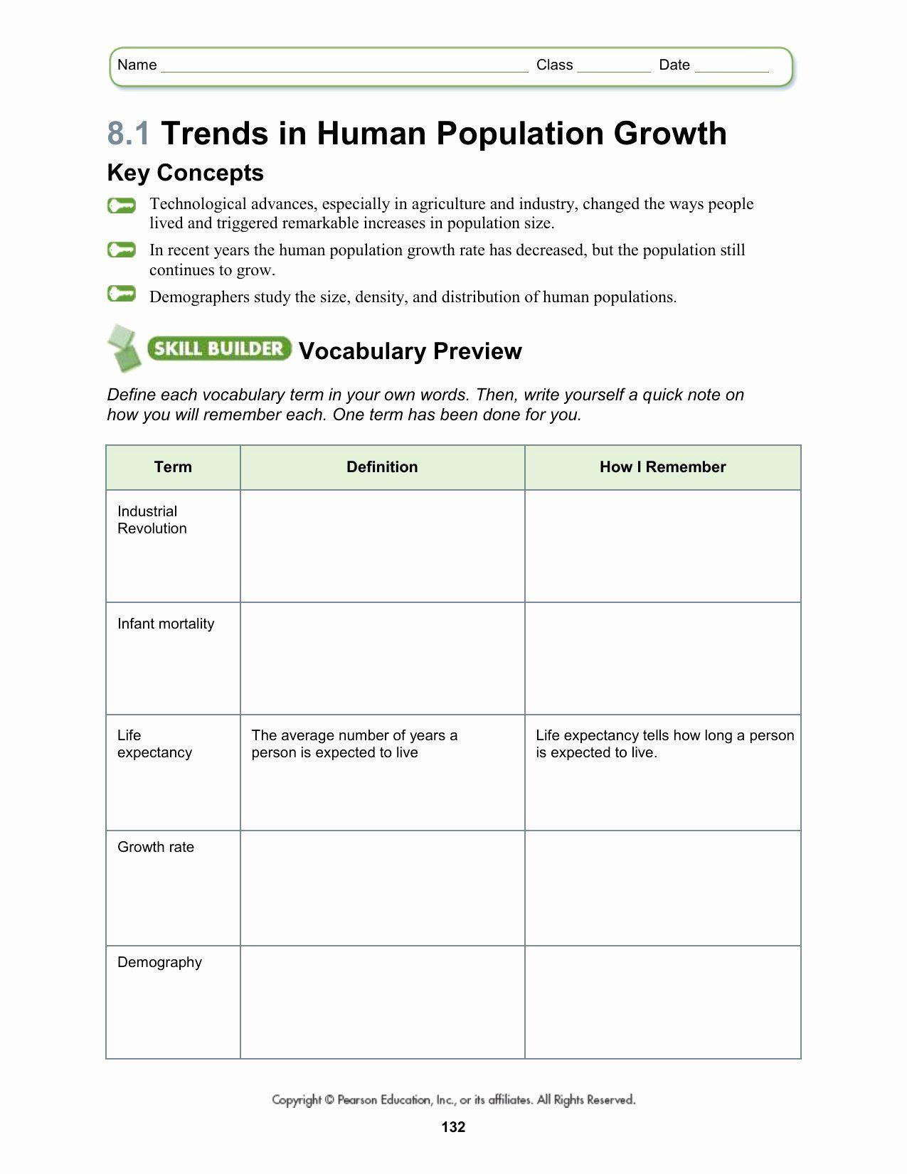 Population Ecology Graph Worksheet Unique Worksheets Human