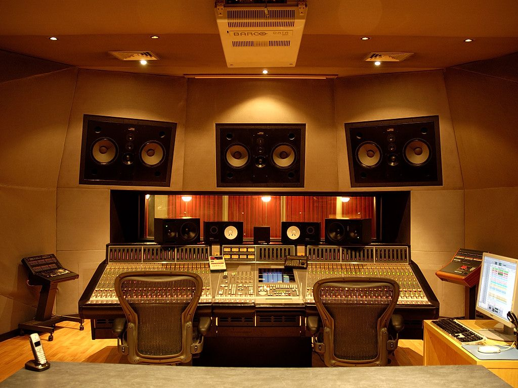 Capitol Studios Home Music Rooms Studio Music Studio