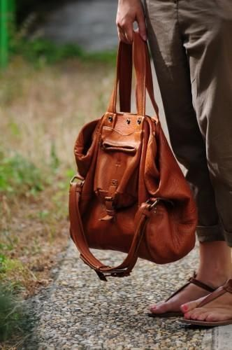 Billy Jérome Dreyfuss - I can't seem to get into the backpack purses yet but I really love this one