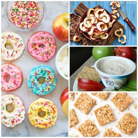 Healthy Fall Apple Snacks