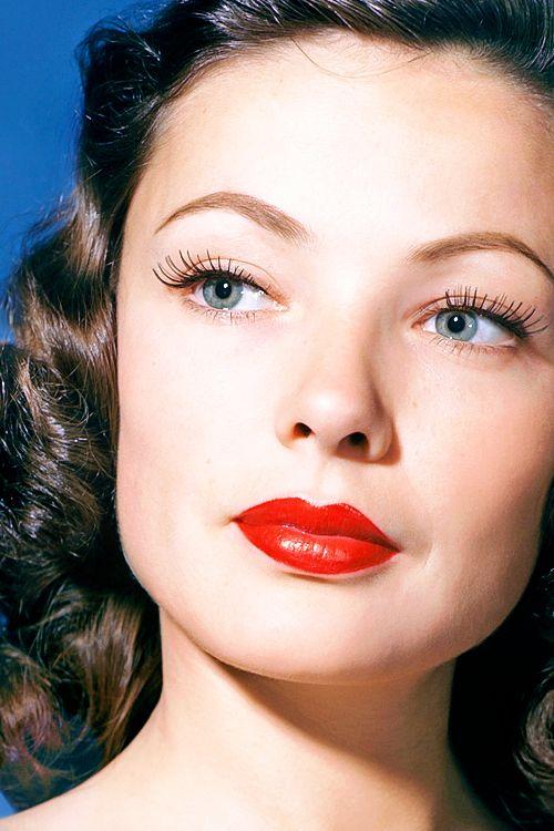 Gene Tierney In 2020 Hollywood Makeup Vintage Makeup Vintage Makeup Looks