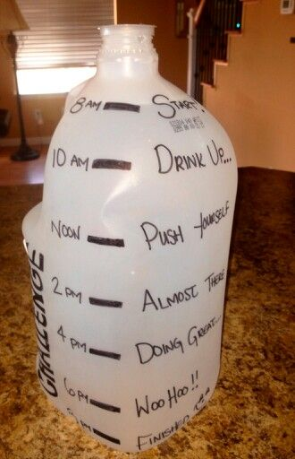 Water Gallon Challenge With Words Of Encouragement From 8