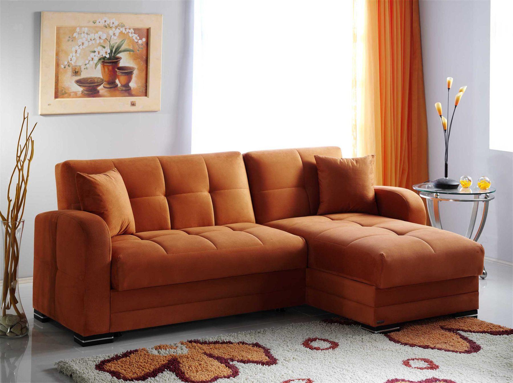 Prächtige Orange Leder Sofa Schreibtisch Sectional Sofas das sind