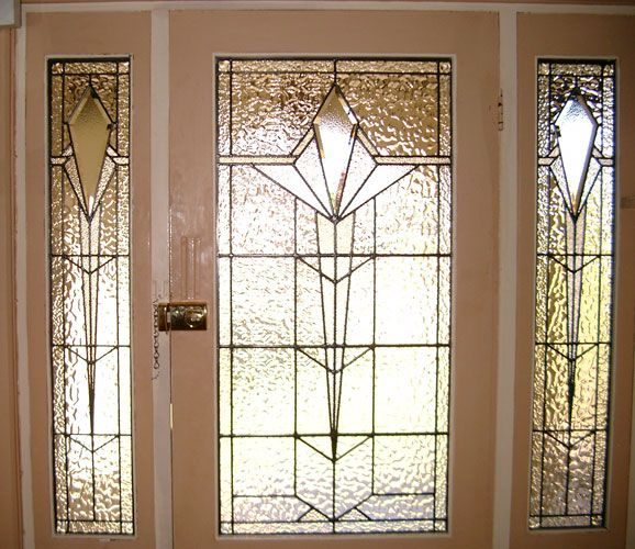 Art Deco Leadlight Windows - Adelaide Glass Painters - Leadlight ...