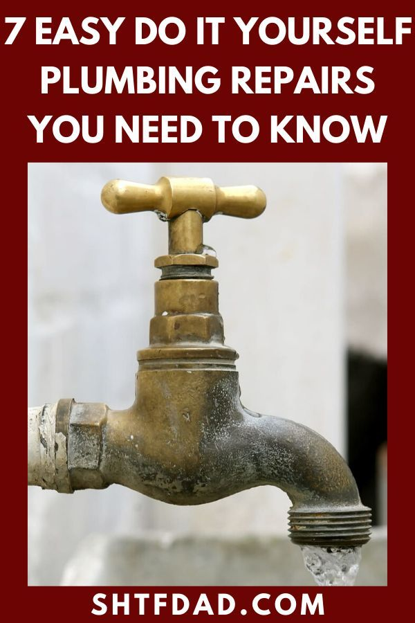 Did you know you can easily fix a lot of plumbing problems yourself without needing to be a DIY expert?
