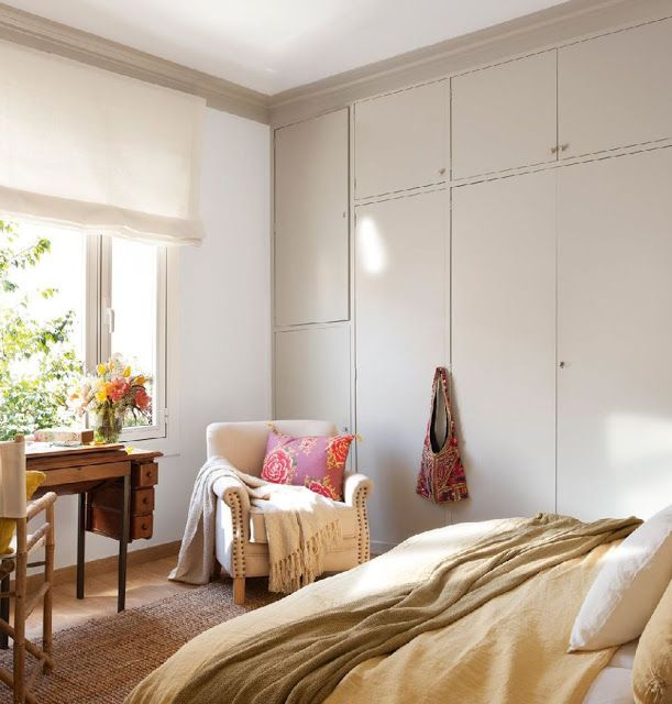 decordemon: Elegant, fresh and colorful apartment in Barcelona