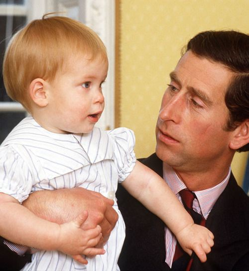 Notesonaprincess: Prince Of Wales With A Young Prince