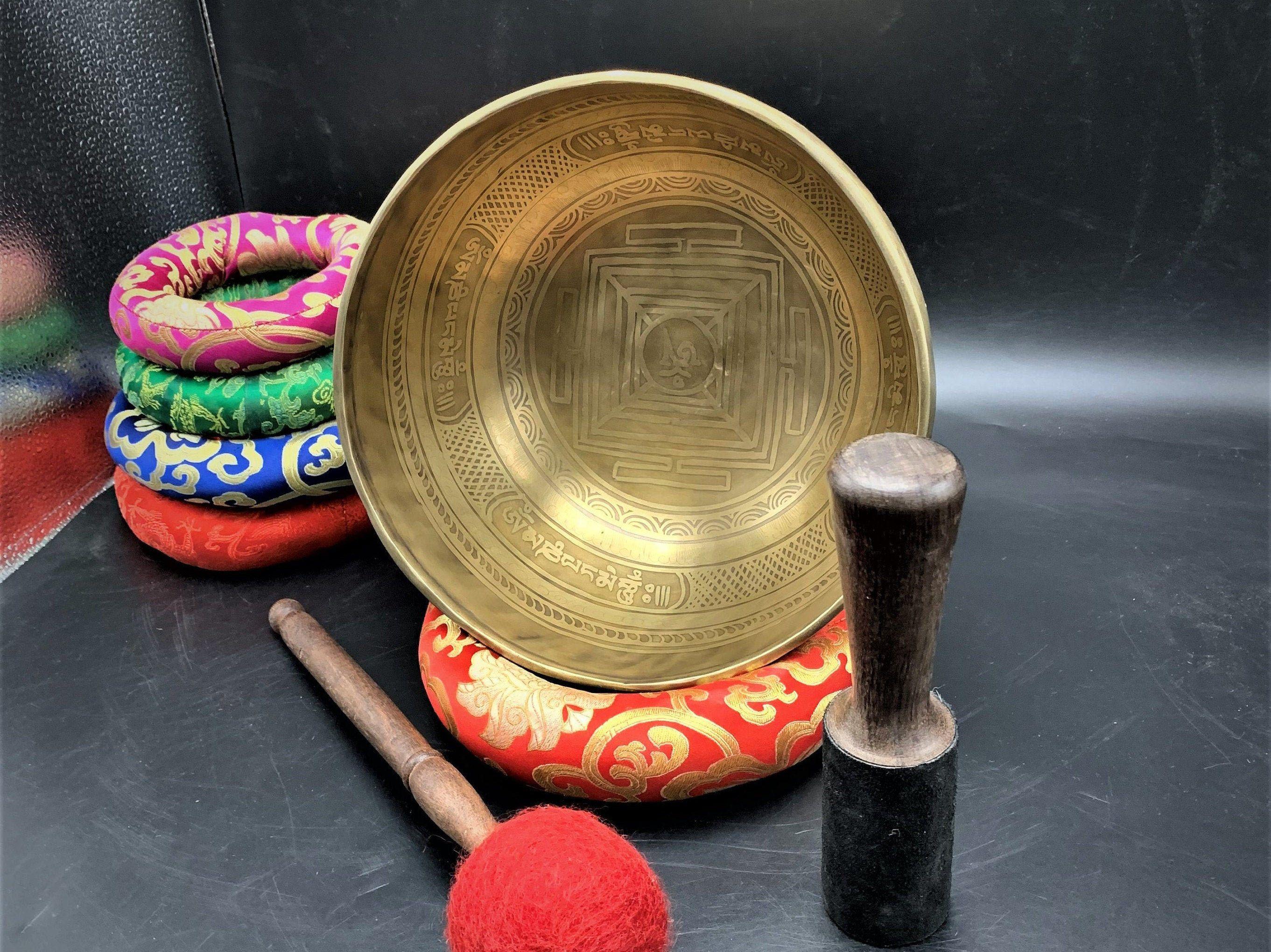 how do i use a singing bowl