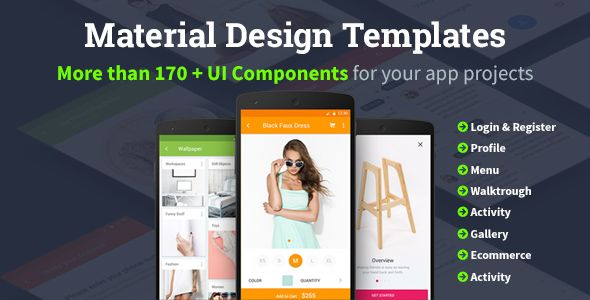 Material design templates httpscodeholderitemmobile stop wasting your precious time do not try hard to find ideas for yourself stop wasting thousands of dollars of your money to the web site ui kit just t solutioingenieria Images