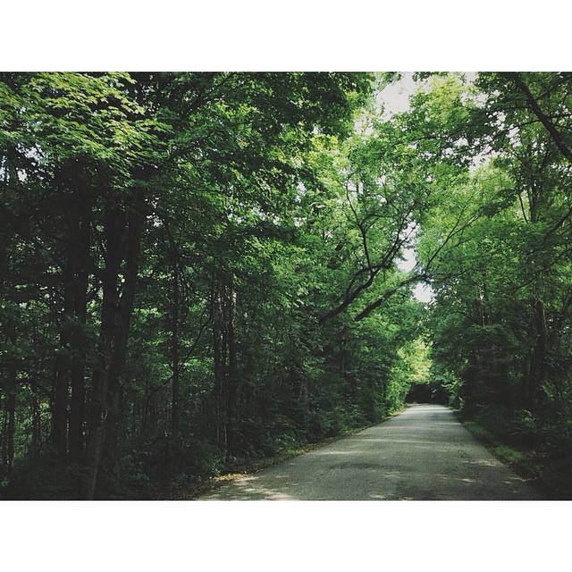 Posted to Instagram by @aprilharnish. Photo taken in rural Morgan County, Indiana.