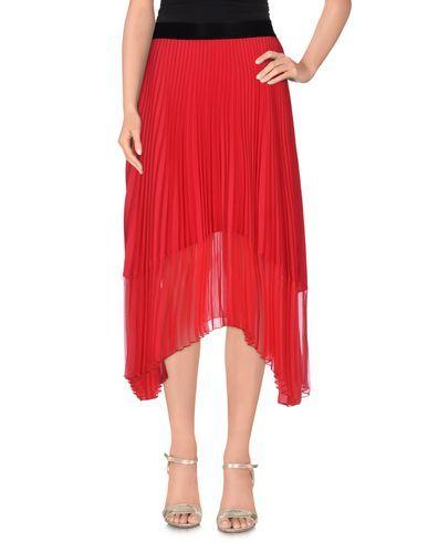 PINKO Women's 3/4 length skirt Red 4 US