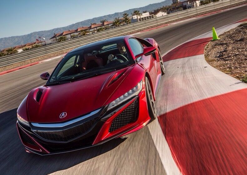 Acura does the same like Honda. The Acura NSX is planed specially only for the USA but the characteristics are the same like the NSX from HONDA.