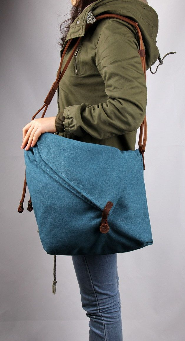 Satchel Bag Washed Canvas Messenger Bag Cross body Bag ...