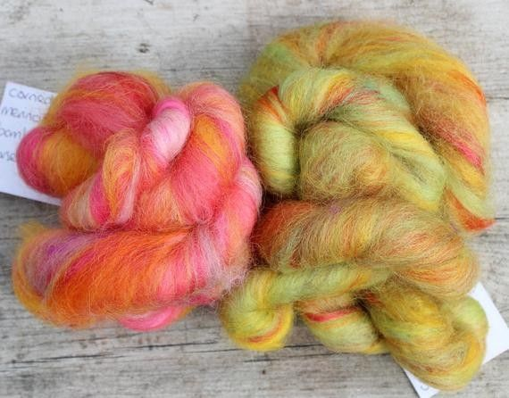 Mix of wool and silk