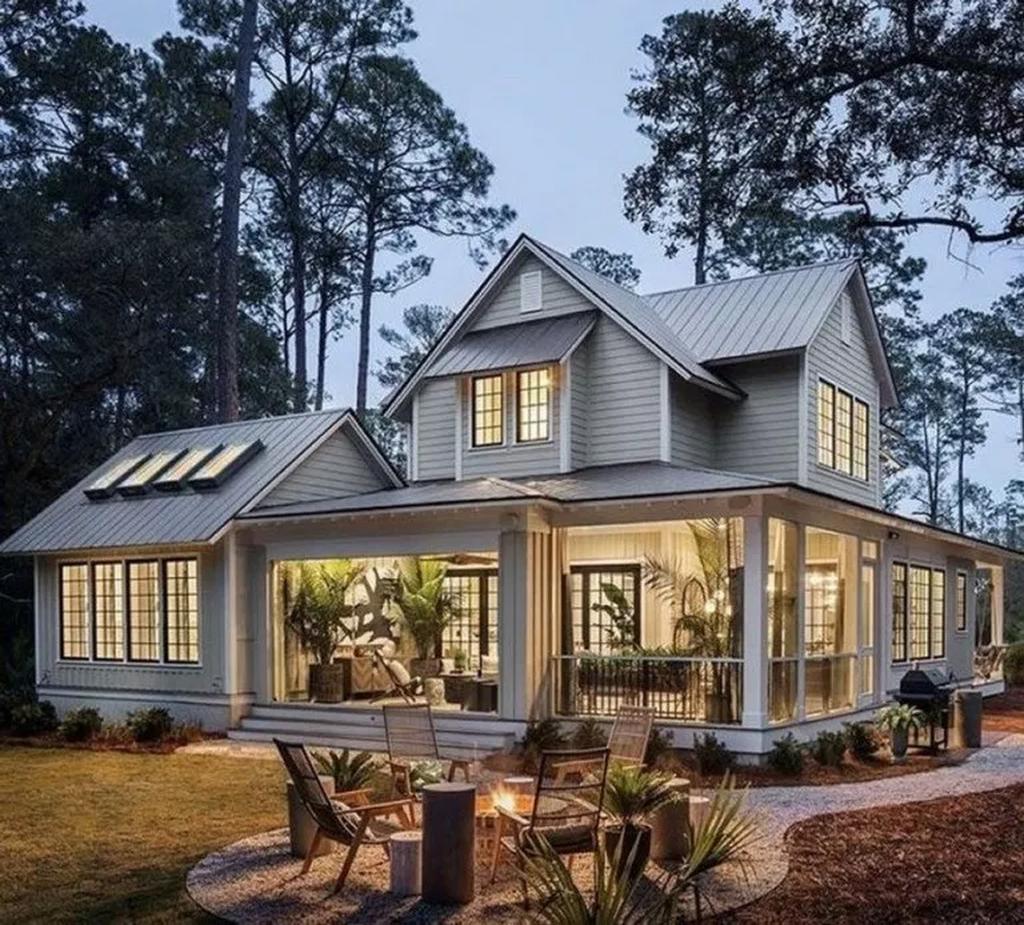 Modern Home Exterior Design Ideas 2017: 33 Gorgeous Modern Farmhouse Exterior Design Ideas (With