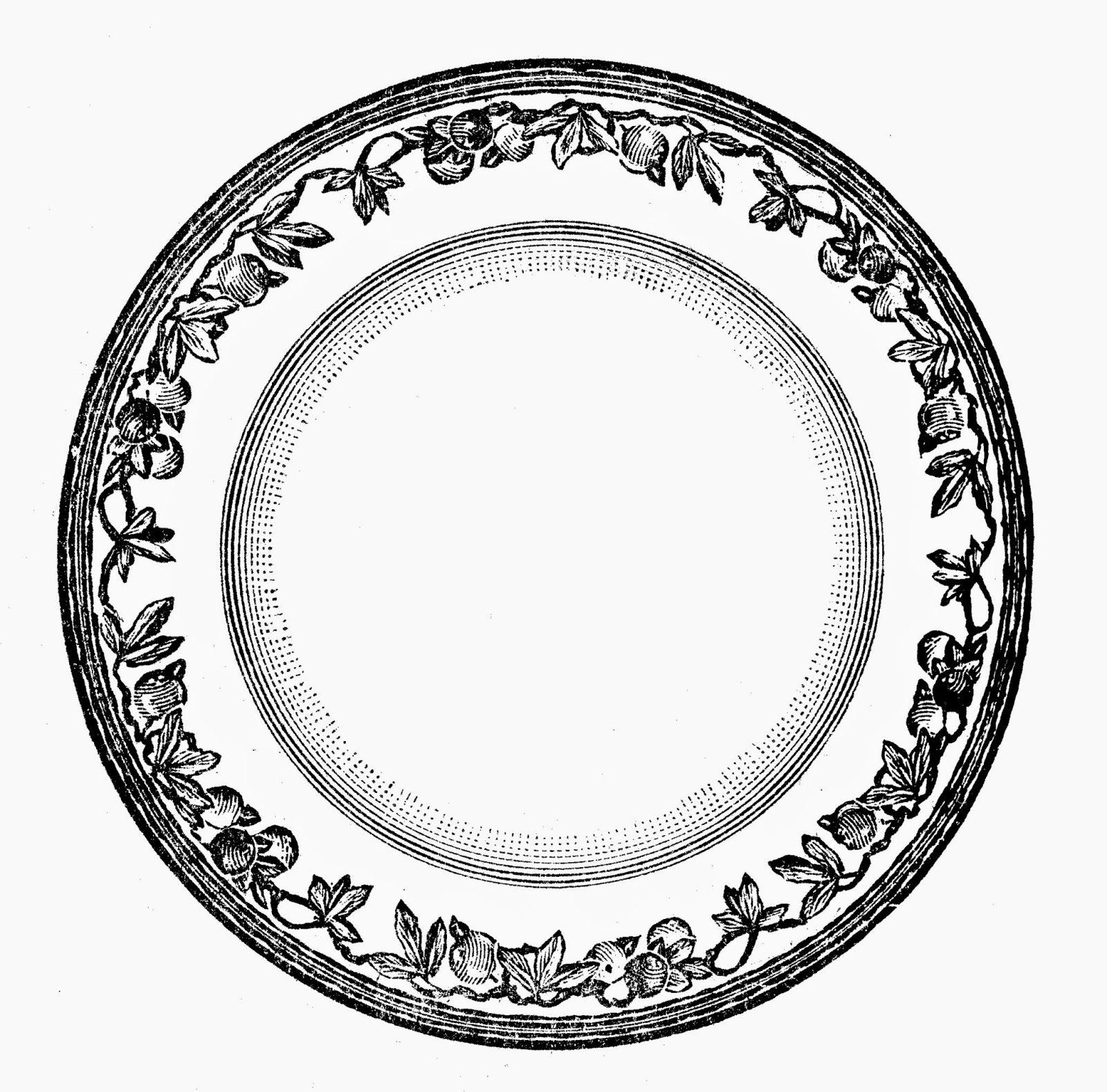 Bianco e Nero  Collezione di Stampe di Piatti Antichi