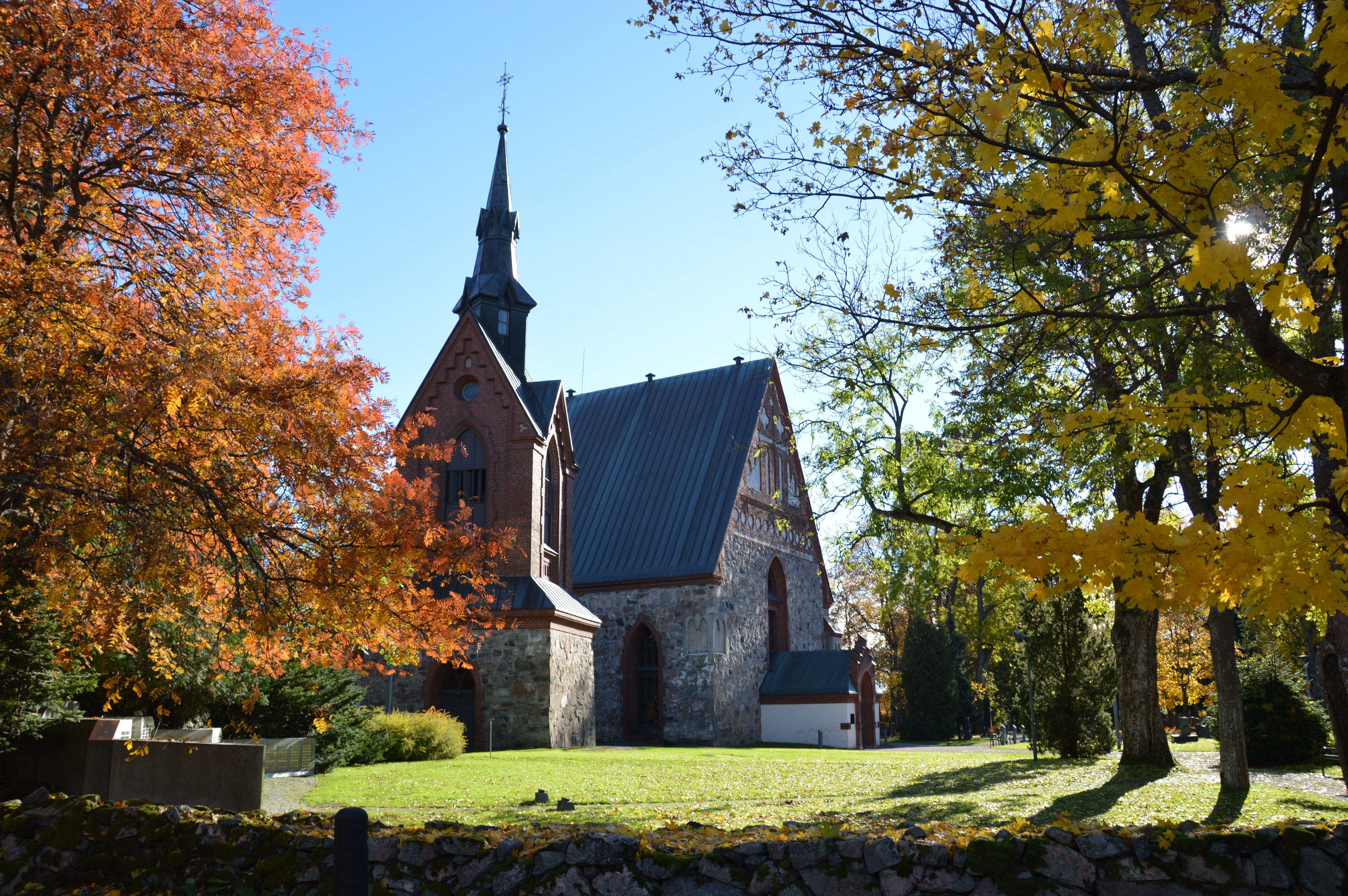 Pyhän Laurin kirkko syksy 2015