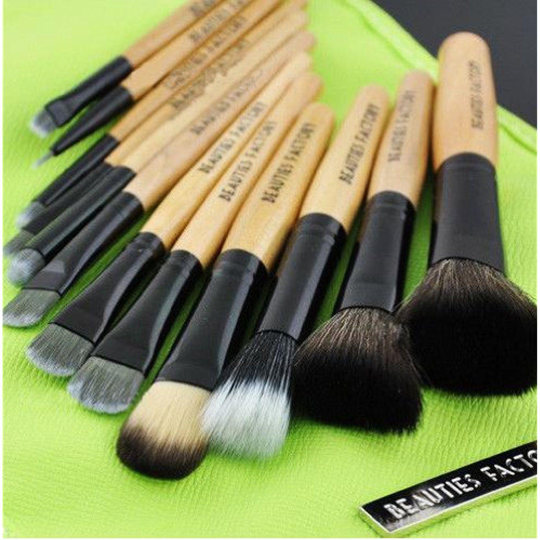 New 12pcs Professional Cosmetics Makeup Brush Set / Kit