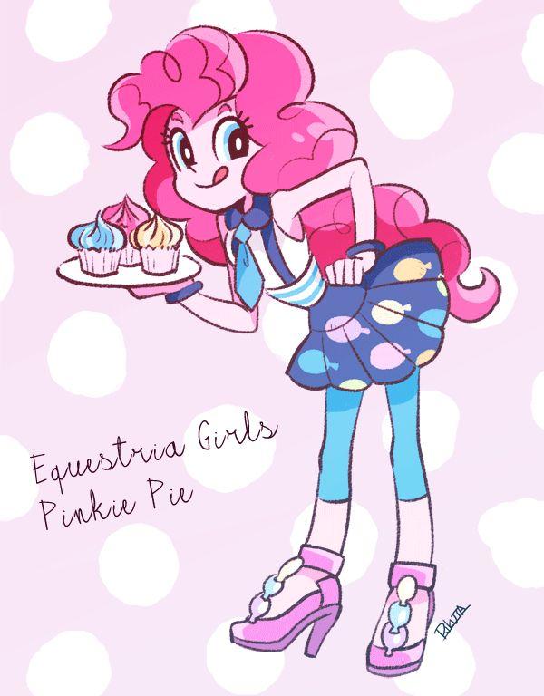 Pinkie pie   Equestria Girls   Dibujos, Pinkie pie, Ponis